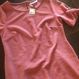 Gorgeous dusty pink maternity dress